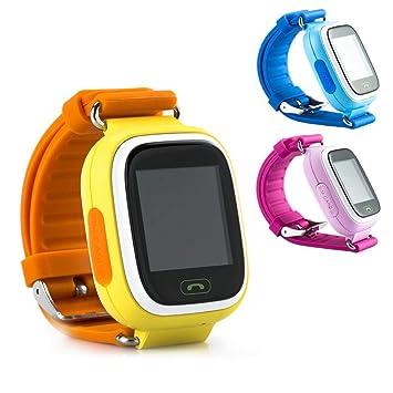 YTYCJSFH Q90 - Reloj Inteligente para niños con GPS y rastreador ...