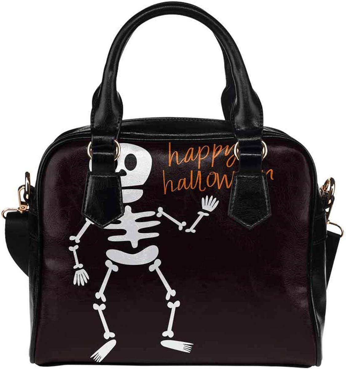 InterestPrint Funny Design Womens PU Leather Purse Handbag Shoulder Bag