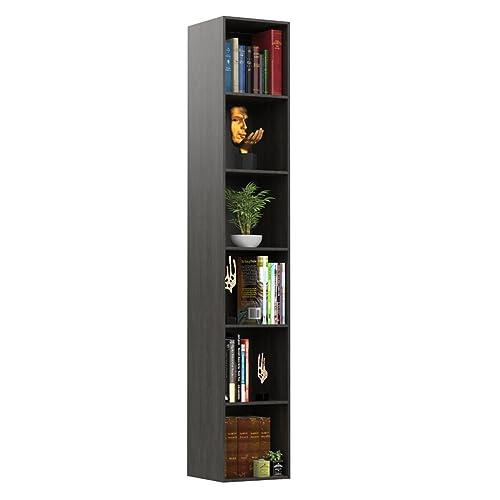 Forzza Carson Bookshelf Tallisa OakDark Oak