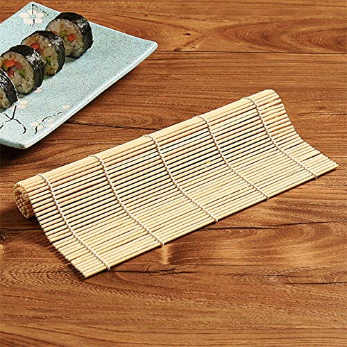 Wikiwand Sushi Rolling Roller Bamboo Onigiri Rice Roller Hand Maker Sushi Tools wooden