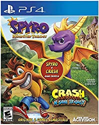 Spyro + Crash remastered game Bundle your favorite Dragon and Bandicoot are back! With the Spyro + Crash remastered game Bundle, you get two fully remastered trilogies, the Spyro Reignited Trilogy and the Crash Bandicoot n. Sane Trilogy, for a total ...