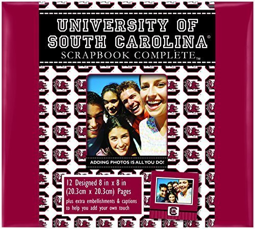 C.R. Gibson Scrapbook Complete Kit, Small, South Carolina Gamecocks (C849709M) by C.R. ()