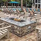 Skyflame Stainless Steel Extensive Fire Pit Gas