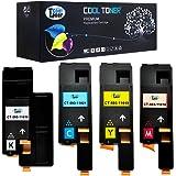 Cool Toner 4-Packung C1765NF kompatibel Toner fuer Dell 1250 1250C 1350CNW 1355CN 1355CNW, C1760NW C1765NFW, kompatibel 593-11016 593-11021 593-11018 593-11019