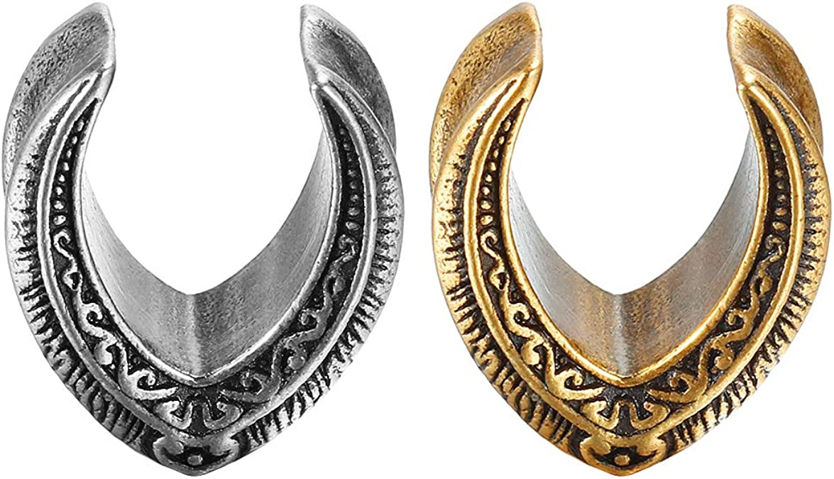 Details about  /Rivet Cone Plugs and Tunnels Earring Gauges Piercing Stretcher Expander Jewelry