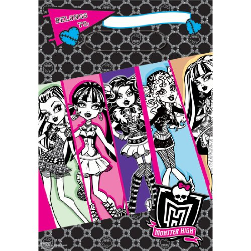 Folded Loot Bags | Monster High Collection | Party Accessory]()