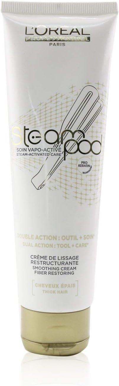 L'oreal Professionnel Steampod Crema para cabello grueso, 150 ml