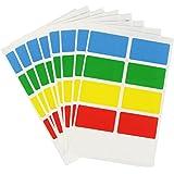 COM de Four® 80unidades congelación etiquetas Juego en 5colores–Autoadhesivo–3,5x 2,0cm