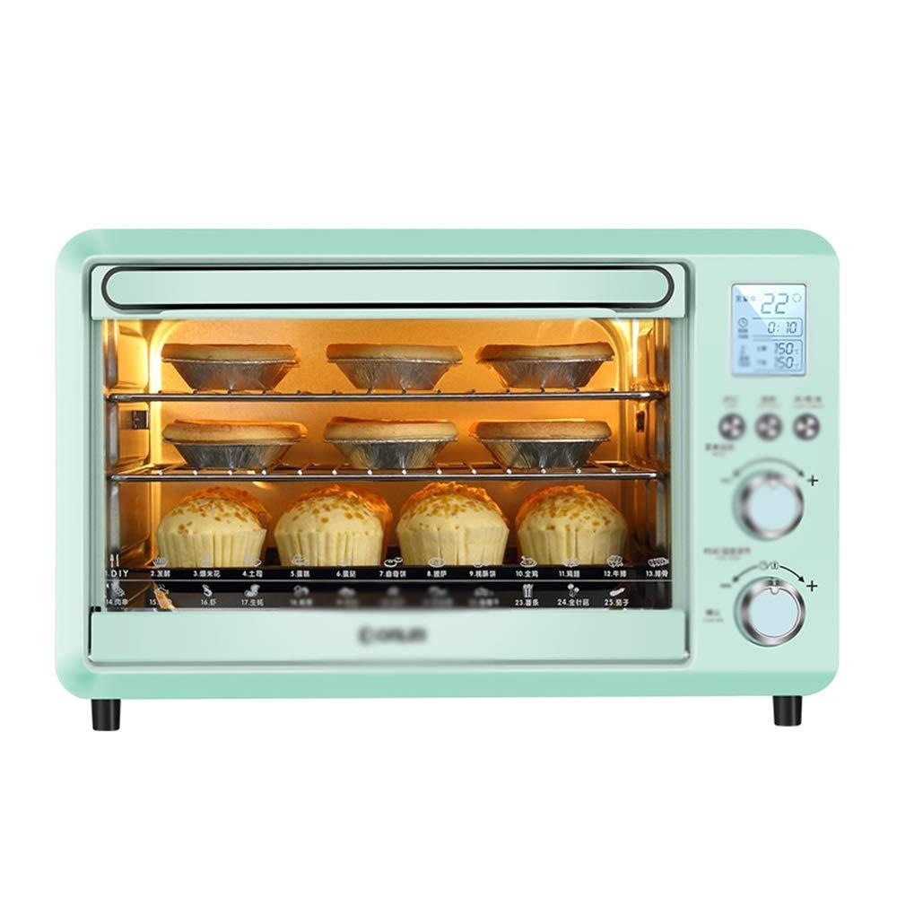 NKDK ミニオーブン電気オーブン家庭用インテリジェント電子ベーキングケーキ多機能ミニオーブンキッチン電気オーブン -38 オーブン   B07NWYRGCX