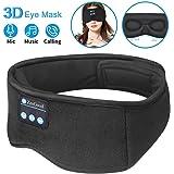 Sleep Headphones Bluetooth Eye Mask,ZesGood 3D Bluetooth 5.0 Wireless Sleep Mask,Washable Adjustable Travel Music…