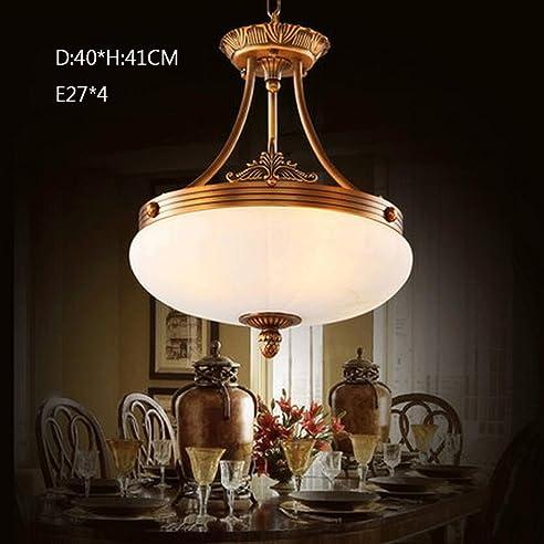 Kronleuchter Kronleuchter All Copper Marmor Lampen Im Europäischen Stil  Klassischer Kronleuchter Aus Kupfer Restaurants Kronleuchtern