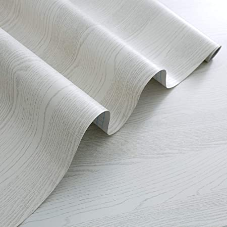 Rabbitgoo Papier Peint Adhesif Decoratif Bois Pour Meuble