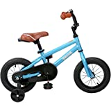 "JOYSTAR Kids Bike with DIY Decal & Training Wheels for 12"" 14"" 16"" Kids Bike, Kickstand for 18"" Kids Bike"
