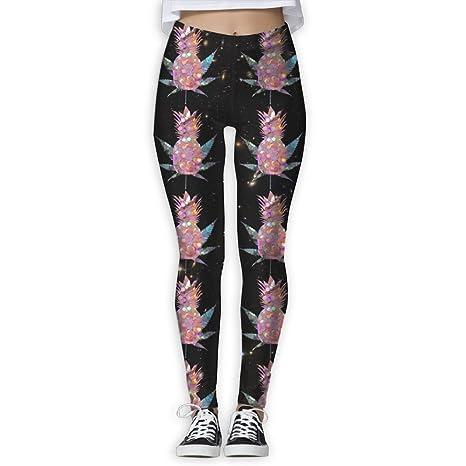 Amazon Com Pineapple Weed Silver Light Pink Glitter Women Sport