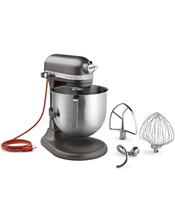 KitchenAid KSM8990DP 8-Quart Commercial Countertop Mixer, 10-Speed, Gear-Driven