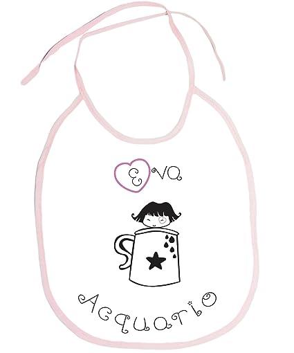 Babero Babero Bebé Niño signo del zodiaco acuario Eva Idea regalo