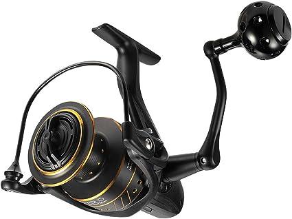 Saltwater Spinning Reels Lure Fishing Reel 5-8KG Drag Fishing Spool Handle Q5T4