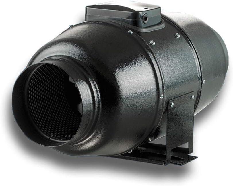 KTT Silent Ventilateur /à piston pour tuyau de purge silencieux /Ø 125 mm