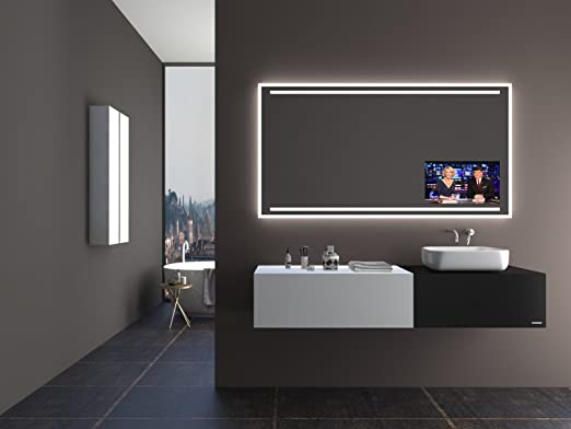 Unbekannt TV Espejo T405 con a + + LED Iluminación – (B) 90 x (H ...