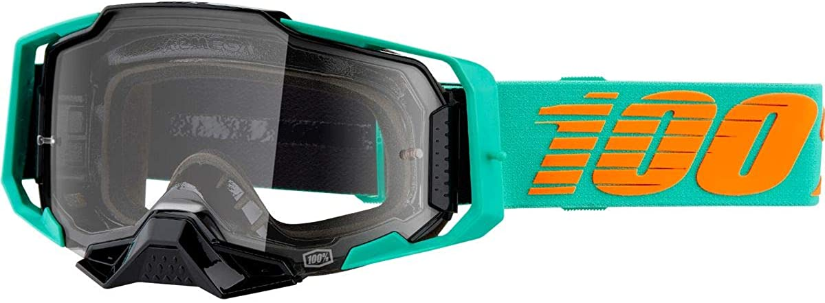 100% Armega Motocross & Mountain Biking Goggles - MX and Mountain Bike Racing Protective Eyewear
