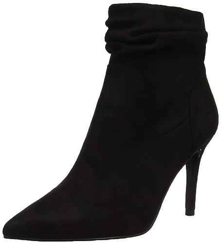df1174bd385a18 KAREN MILLEN Fashions Limited Women s Black Ankle Boots  Amazon.co ...