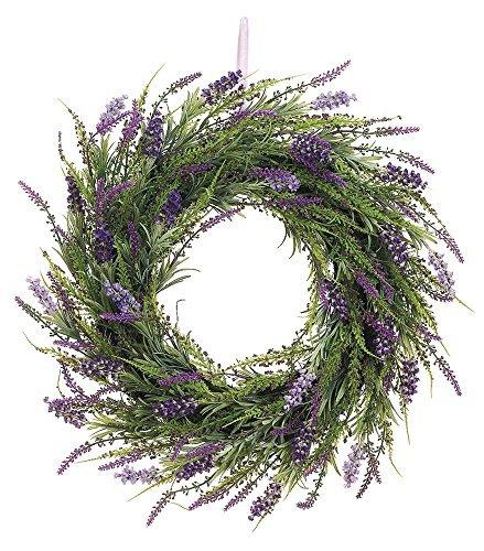 20-Inch-Artificial-Lavender-Wreath-On-Twig-Base