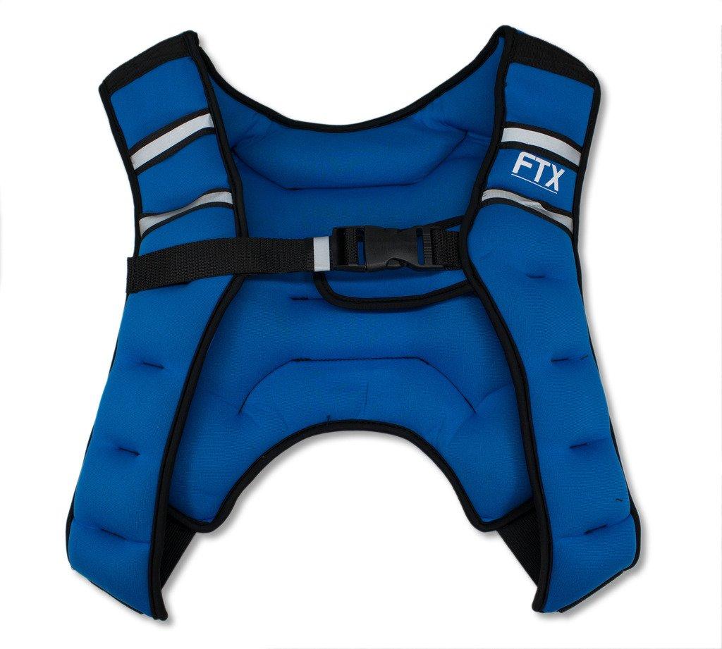 Chaleco con peso para X Style FTX azul Chaleco para entrenamiento