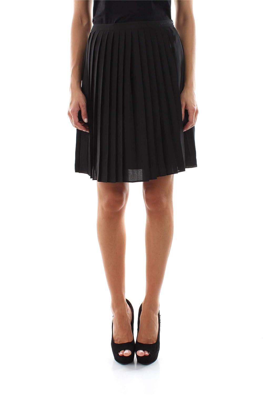 Calvin Klein Jeans J20J212527 Pleated Skirt Faldas Mujer Black M ...