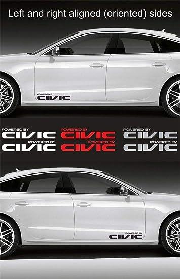 HONDA CIVIC Windshield Vinyl Decal Sticker Emblem Logo Graphic