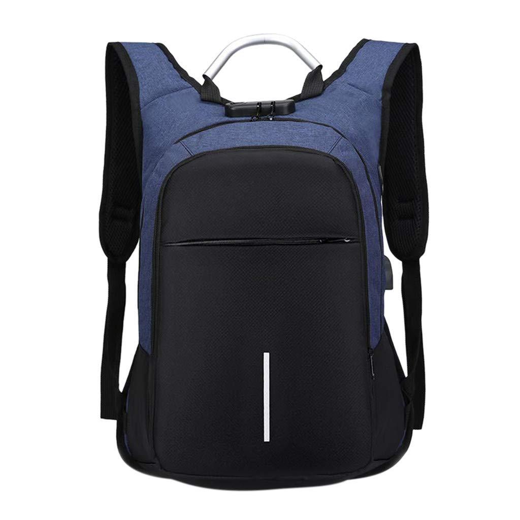 AmyGline Outdoor USB-Ladesperre Diebstahlsicherer Rucksack Camping Sport Rucksack Wandern Geschäftsreisetasche