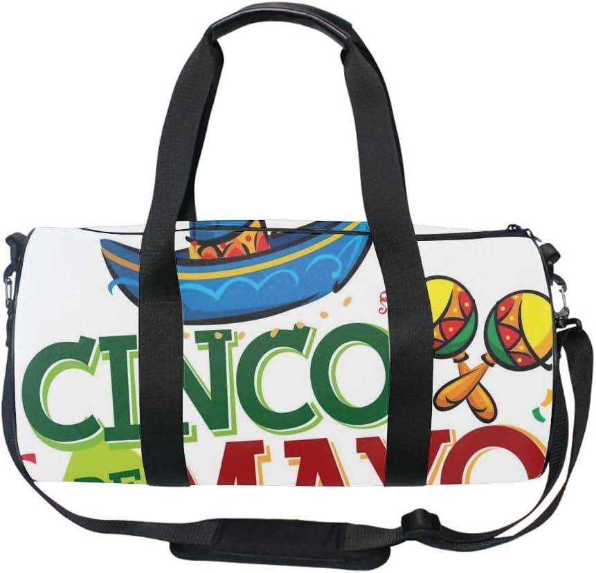 Great Shark Blue Gym Bag Sports Duffel Bag Barrel Holdall Bag For Travel Gym Sports Bag