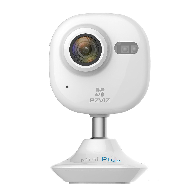 Amazon EZVIZ Mini Plus HD 1080p Wi Fi Video Security Camera Works with Alexa White Home Improvement
