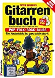 img - for Gitarrenbuch, m. CD-Audio, Bd.1, Mit bekannten Liedbeispielen aus Pop, Folk, Rock & Blues von kinderleicht bis ganz sch n stark book / textbook / text book