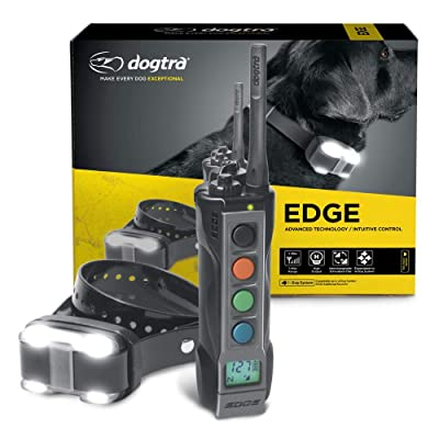 Dogtra EDGE Long Range High-Output 1-Mile Waterproof 4-Dog Expandable Remote Dog Training E-Collar