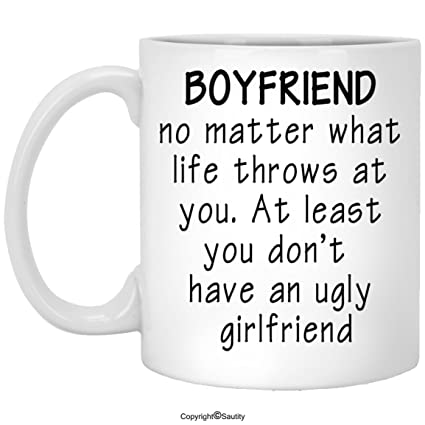 For My Boyfriend Mug Birthday Gift