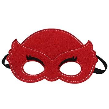 G-JY Máscara de Halloween máscara de Encaje máscara Veneciana Máscara de Ojos para niños