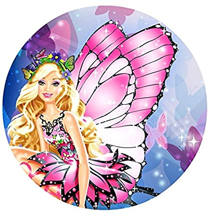 Amazon Barbie Fairytopia Edible Image Photo Cake Topper Sheet