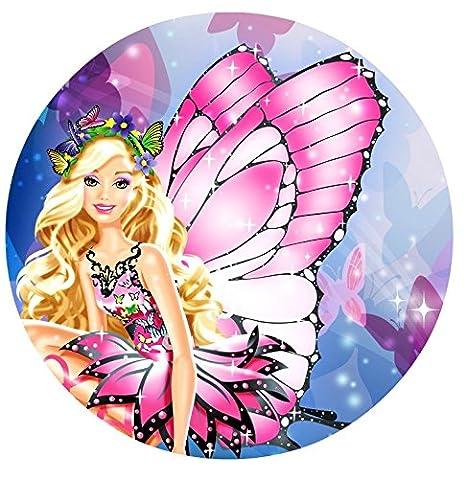 Barbie Fairytopia comestible decoración para tarta para hoja ...