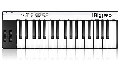 IK Multimedia IPIRIGKEYSPROIN 03-90039 - Teclado MIDI (plástico, conector tipo USB)