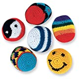 SmileMakers Woven Kickballs - 24 per pack