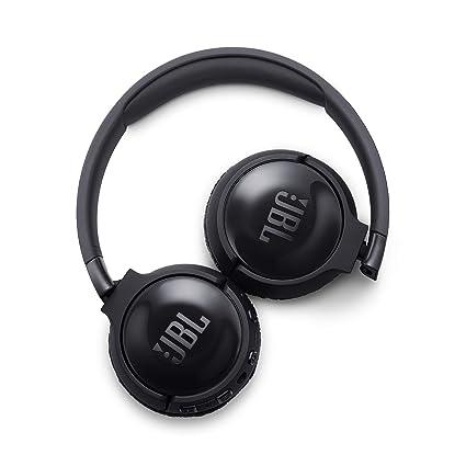 JBL Tune 600 BT ANC - Auriculares inalámbricos con Bluetooth y cancelación de ruido, sonido Pure Bass, 12h de música continua, negro: Amazon.es: Electrónica