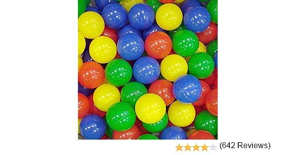Paquete de 100 Bolas multicoloridas.: Amazon.es: Juguetes y juegos