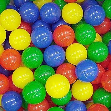 Paquete de 100 Bolas multicoloridas.