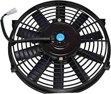 "A-Team Performance 10/"" Electric Reversible Radiator Cooling Fan 12V 850CFM"
