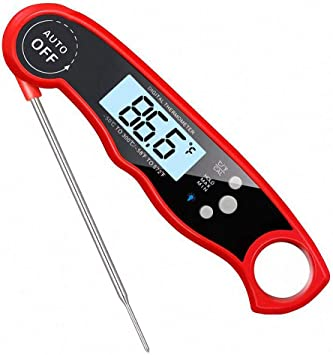 Kochen Lebensmittelthermometer Grillen Backen Essen Temperatur Anzeige