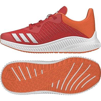 save off 0e1e3 73474 adidas Fortarun K, Sneakers Basses Fille, Rouge (RoalreFtwblaNaalre 000