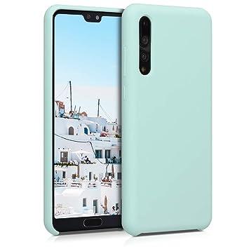 kwmobile Funda para Huawei P20 Pro - Carcasa de TPU para teléfono móvil - Cover Trasero en Menta Mate