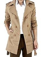 (ドートル オトゥール) D'autres hauteurs 2色 3サイズ 長袖 襟付き ビジネス カジュアル トレンチ ロング 丈 コート 大きい サイズ