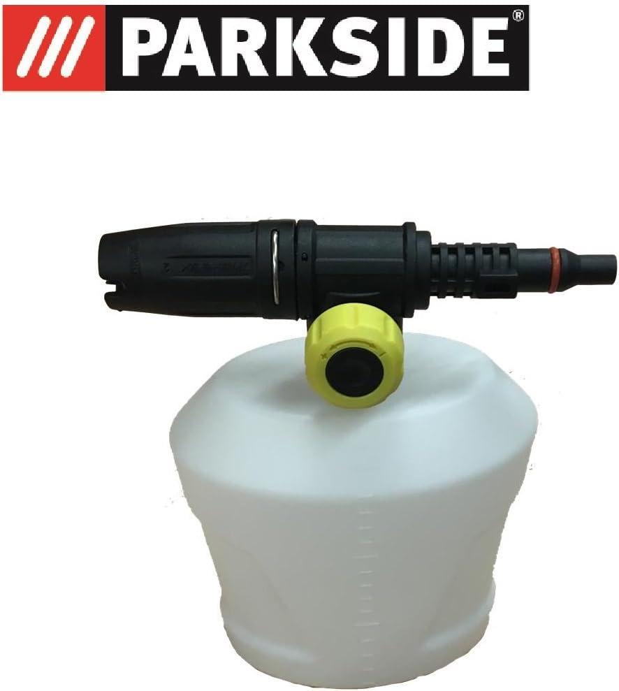 Parkside pulverizador para productos de limpieza, también para espuma Adecuado, para Parkside limpiador de alta presión modelos PHD Ver lista, schaumsprüher, Foamer Foam Nozzle