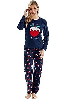 Trueboy Christmas Family Pyjamas Matching Set Pudmas Long Sleeve Xmas Nightwear Mens Womens Girls Boys Kids